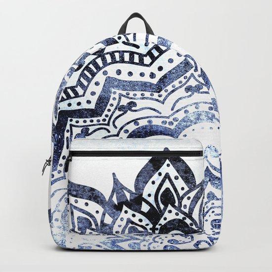 BLUE ORION JEWEL MANDALA Backpack