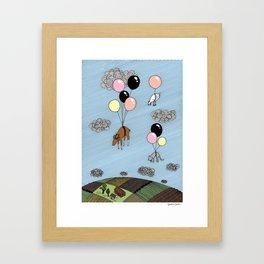 We´re flying Framed Art Print