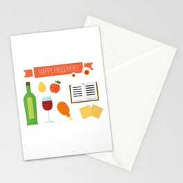 Happy Passover Day Stationery Cards