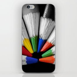 Colour Your Walls iPhone Skin