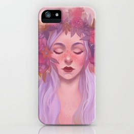 Pinks and Purples iPhone Case