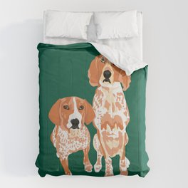 Gracie and George Comforters