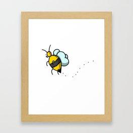 Buzzy Bee | Veronica Nagorny Framed Art Print