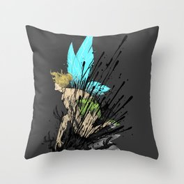 Dont Mess With Her! Throw Pillow