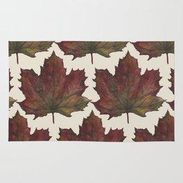 autumn leaf Rug