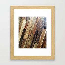 Panel Floor Beauty Framed Art Print