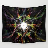 rave Wall Tapestries featuring Rave color by Angel Decuir