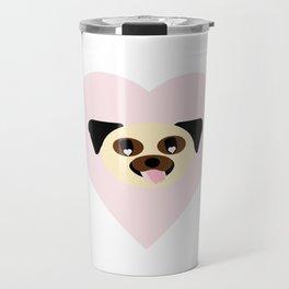Pug Love Travel Mug