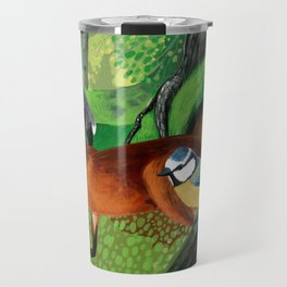 Of foxes and badgers Travel Mug