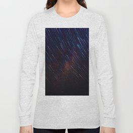 The Galaxy Rains (Color) Long Sleeve T-shirt