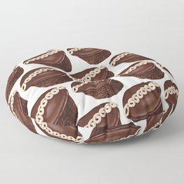 Cupcake Pattern Floor Pillow
