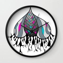 Mushroom Cap Wall Clock