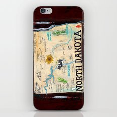 NORTH DAKOTA iPhone & iPod Skin