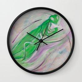 Manny The Praying Mantis Wall Clock