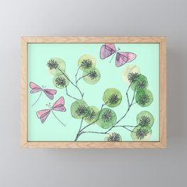 a touch of summer fragrance Framed Mini Art Print