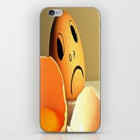 eggs iPhone & iPod Skins featuring eggs by  Agostino Lo Coco