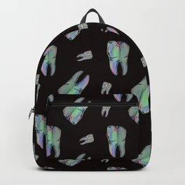 Loose Toothache - Hologram on Black Onyx Backpack