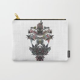 Mirror Parrot Carry-All Pouch