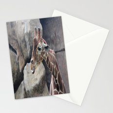 Giraffe Close up Stationery Cards