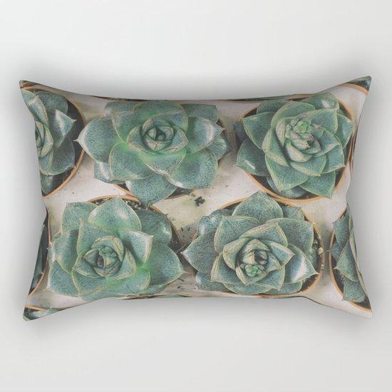 Succulent Collection Rectangular Pillow