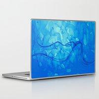 aquarius Laptop & iPad Skins featuring Aquarius  by HollyJonesEcu