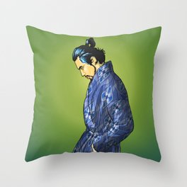 801 MODERN SAMURAI Throw Pillow