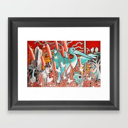 Wetland Expansion Framed Art Print