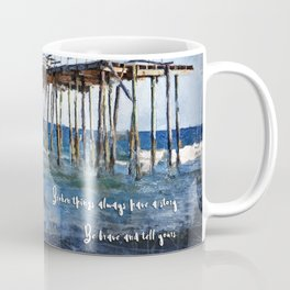 Broken things always have a story. Coffee Mug