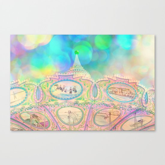 Cotton Candy Dreams Canvas Print