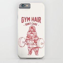 Gym hair don't care shih tzu iPhone Case