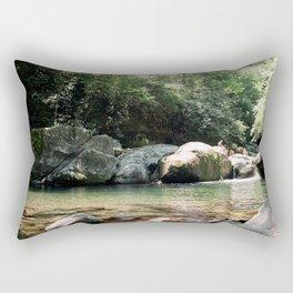 Midnight Hole Rectangular Pillow