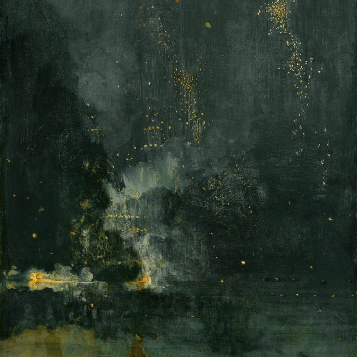 James Abbott McNeill Whistler - Nocturne in Black and Gold Comforters
