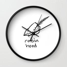 Robin Hood Wall Clock