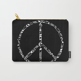 Music peace - inverted Carry-All Pouch