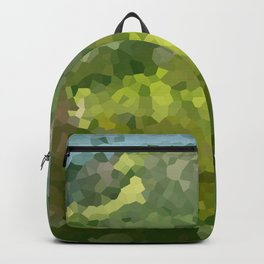 Mountain Forest Green Life Adventure Backpack