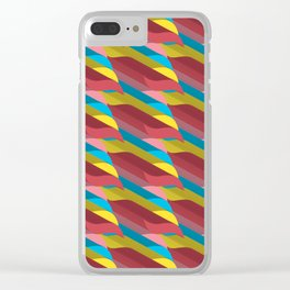 3D Pattern _01 Clear iPhone Case