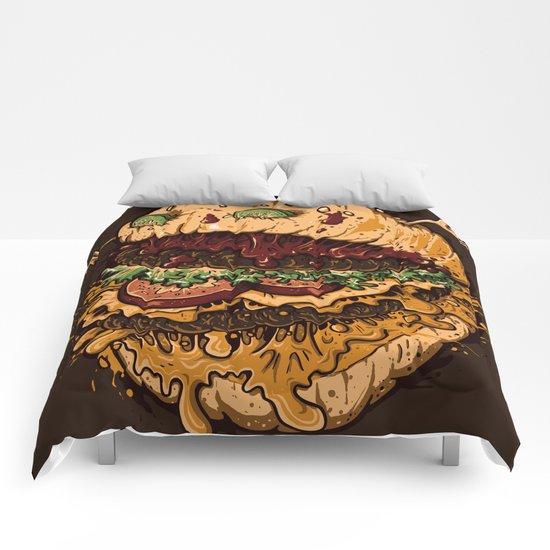 Monster Burger Comforters