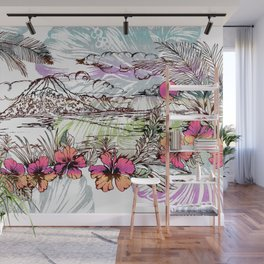 Sail Away Wall Mural