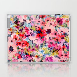 Little Peachy Poppies Laptop & iPad Skin