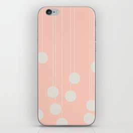 Dangle in Windsor Pink iPhone Skin