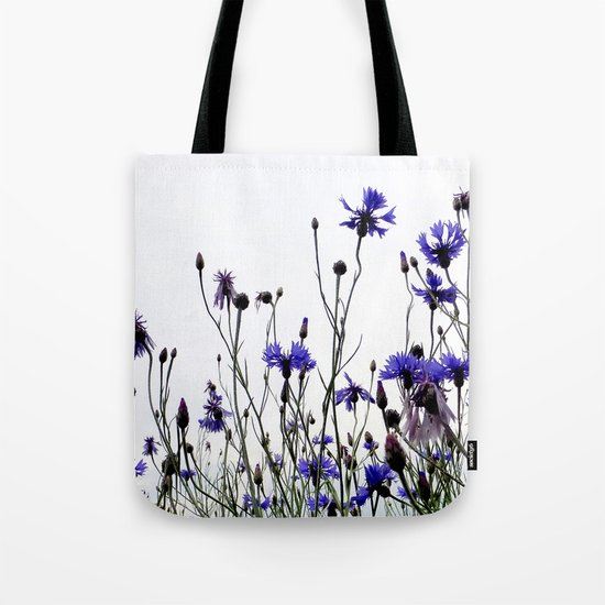 Cornflowers blue Tote Bag