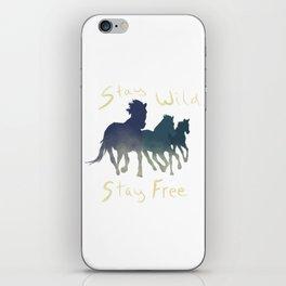 Horses Wild & Free iPhone Skin
