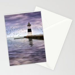 The Light on the Pier Stationery Cards