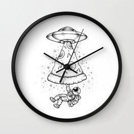 Leave my food alone Wall Clock