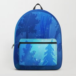 Christmas forest Backpack