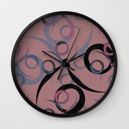 xoxoxo Wall Clock