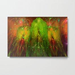 Fractal Angels VI Metal Print