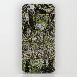 STILLNESS IS A VIRGIN WOOD II iPhone Skin