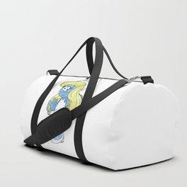Watercolour Smurfette Sketch Duffle Bag