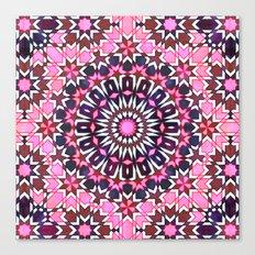 FEZ Moroccan Tiles {4H} Canvas Print